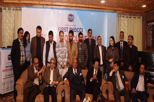 PHD Chamber States Conclave concludes in Gulmarg