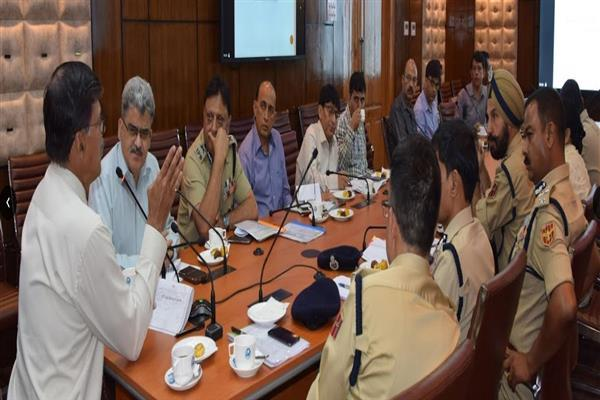 Advisor Kumar discusses modalities for imparting BLS training program for police personnel